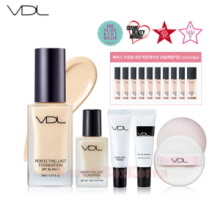 VDL Perfecting Last Foundation Cover Puff Set [Monthly Limited -July 2018]